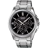 Casio Enticer Watch For Men - Analog Stainless Steel Brand MTP-1375D-1AVDF