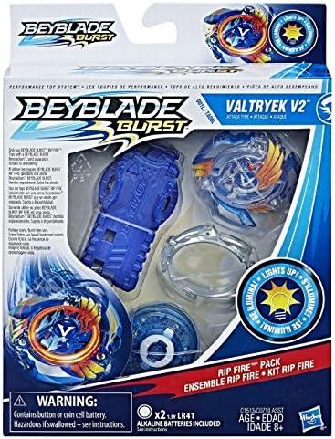 Hasbro B0757L2ZTX Beyblade Burst Rip Fire Starter Pack , Modelos ...