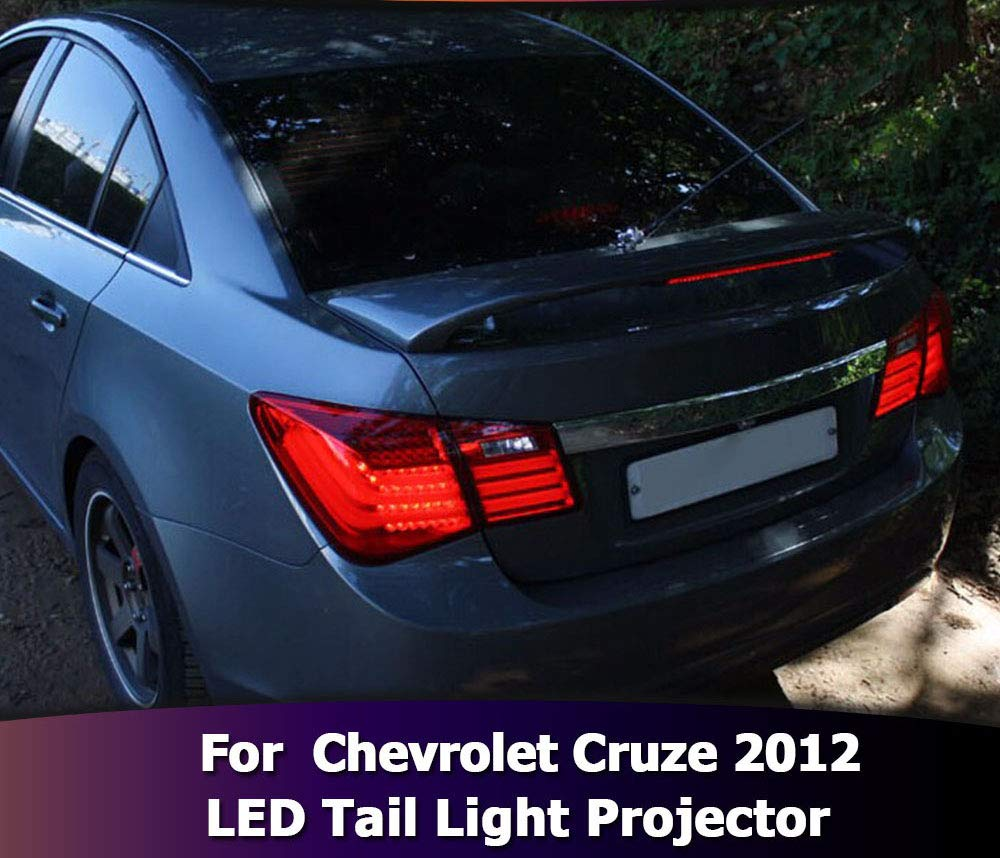Diesel Auto Chevrolet Cruze 2012 LED luces traseras proyector luz ...