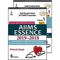 AIIMS ESSENCE 2019-2018 (Vol. 1 Part A & B)