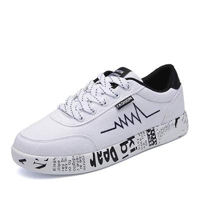 Amazon.com | HaHapo New Spring Women Shoes Black Sneakers Female Lace-up Women Casual Shoes Breathable Walking Canvas Shoes Women Graffiti Flat | Fashion ...