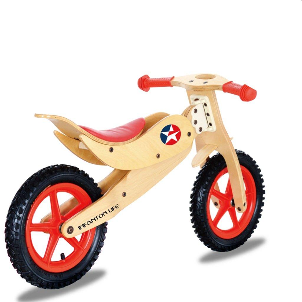Equilibrio de los Niños de la Bicicleta Bebé Infantil Walker Balance Bike 2-6 Asiento de la manija Ajustable del Asiento del Regalo del Regalo Equilibrio de la Bici de Madera de la Vespa