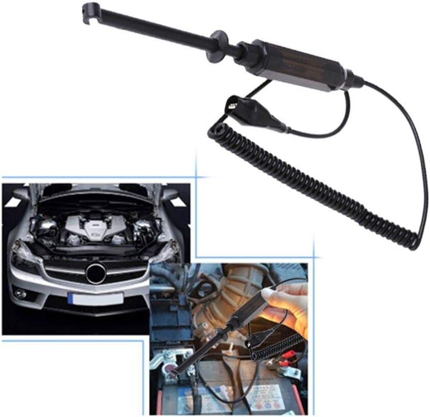 probador de voltaje de circuito el/éctrico para auto cami/ón con herramienta de luz de prueba DC 6 V//12 V//24 V coche L/ápiz de luz de prueba de sonda