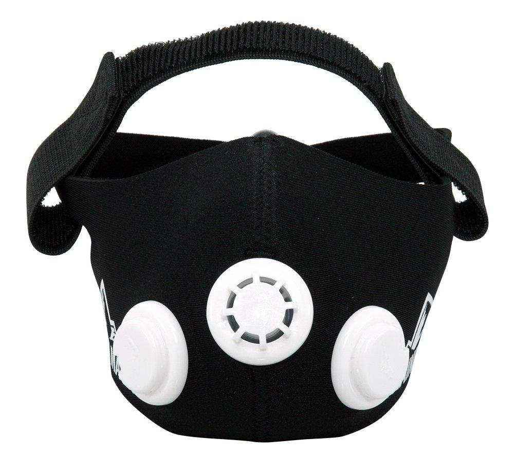 Training mask トレーニングマスク エレベーションマスク 低酸素 高地トレーニング 肺活量 (Black, M)