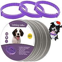 LeQuiven Collar calmante para Perros, Paquete de 3 Collares para Perros, Alivia la ansiedad del Perro con feromonas…