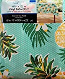 Summer Pineapple Pattern Rectangular Vinyl Tablecloth (60 x 102 Inches)