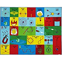 JACKSON Large5'0 x 6'6 Collection ABC Fun Kids Rugs,...
