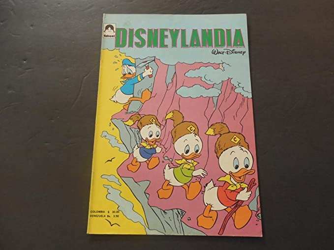 Amazon.com: Disneylandia #19 Unknown Date Spanish Language ...