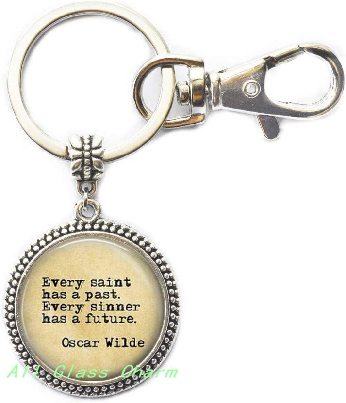 AllGlassCharm /Charming Bracelet,Quote Every Saint has a Past Every Sinner has a Future.Quote Bracelets,Quote Bracelets,AS042