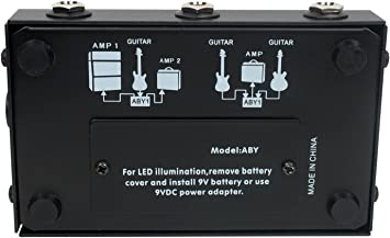 OSP ABY Guitar Amplifier Selection Foot Switch