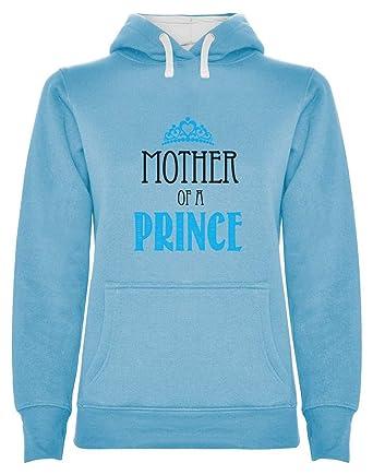 Sudadera con Capucha para Mujer - Mother of a Prince ...