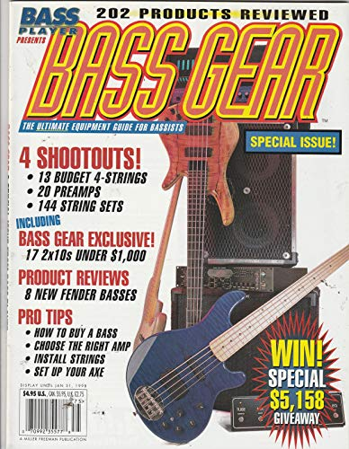 Bass Player Presents Bass Gear January 31 1998 Magazine 20 Preamps 144 String Sets
