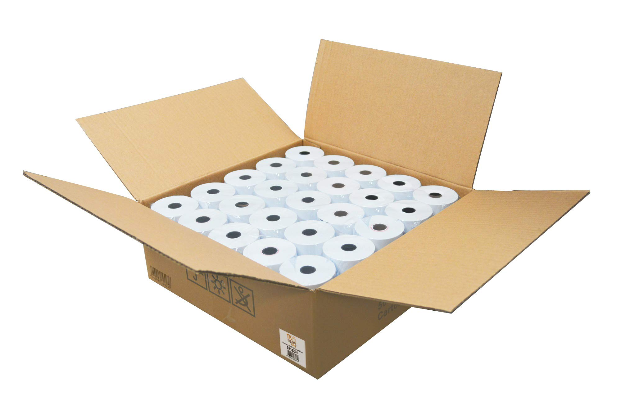 Thermal King, 2 1/4'' x 230' Thermal Paper, 50 Rolls [Thermal King Brand] by Thermal King (Image #2)