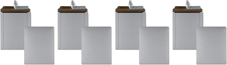 25 per Box White 9.75x12.5 Quality Park Photo//Document Mailer Redi-Strip 64015 Fоur Paсk