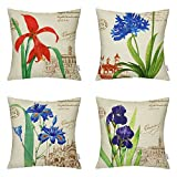 4 Packs Hippih Throw Pillow Cases - Cotton - Best Reviews Guide