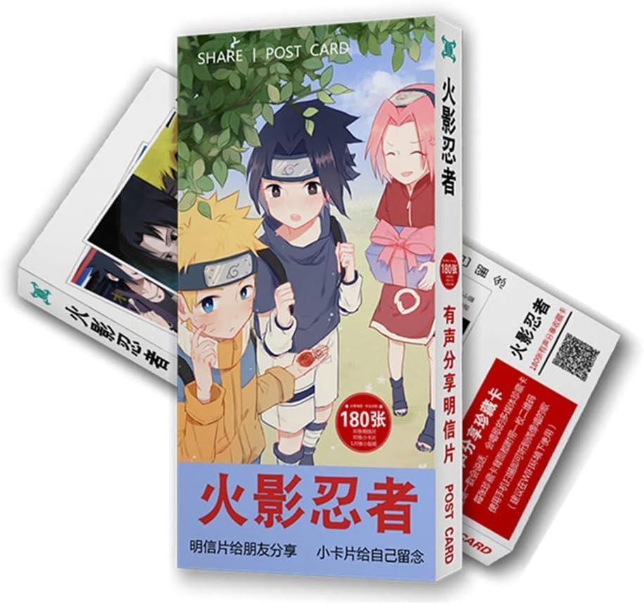 30 cartoline Yhrhredfjh Anime cartoline adesivi per computer portatile libro foto poster Lomo Card Gift Set 120 adesivi a tema cartone animato 30 biglietti Lomo per fan di Anime Bungo Stray Dogs