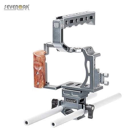 Andoer sk-a7 C1 Kit de jaula de cámara réflex digital de vídeo ...