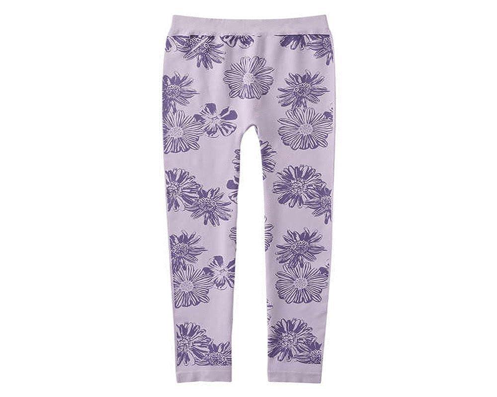 Joe Fresh Seamless Floral Leggings Light Lilac (Kid Girl) kgs7a