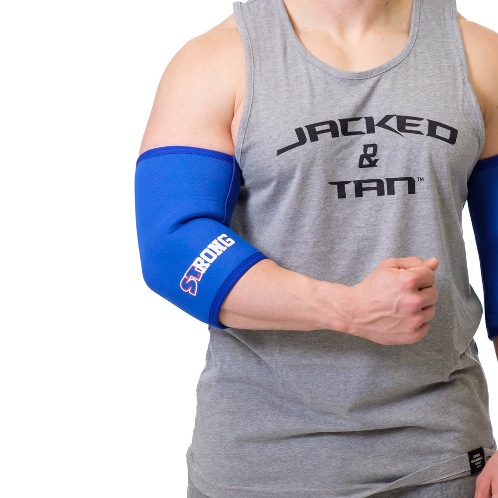 Strong Elbow Sleeves - Blue, S