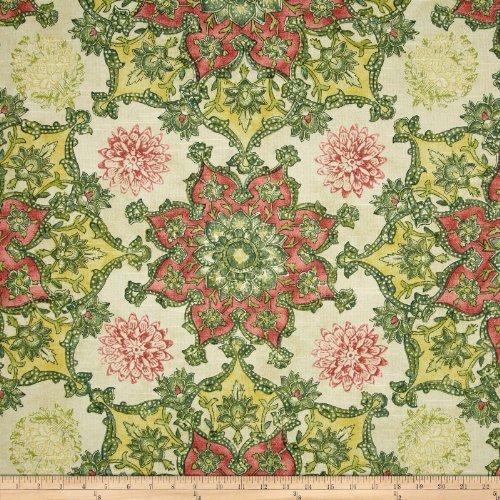 Waverly Incense Wheel Slub Jewel Fabric ()