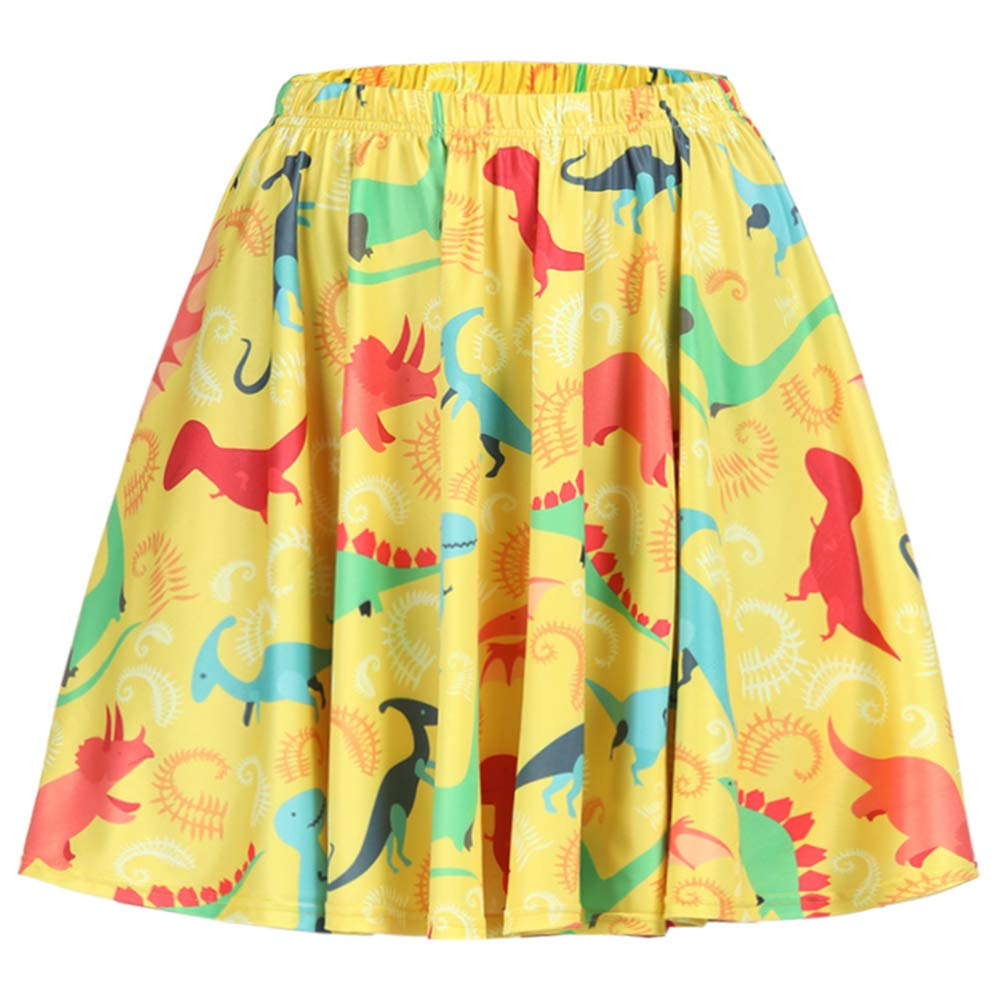 Fancyqube SKIRT Yellow_dinosaur SKIRT レディース B07L4D4R3L Large|Yellow_dinosaur Yellow_dinosaur Fancyqube Large, 千疋屋総本店:77d4a3c1 --- foeum.lanars.com.br