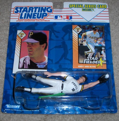 1993 Andy Van Slyke MLB Starting Lineup Figure