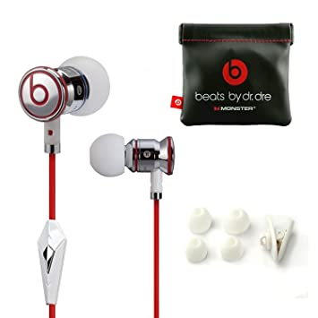 7248f8c0f55 Genuine Monster Beats By Dr. Dre iBeats Earphones In Ear Headphones Mic for iPhone  iPad