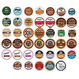 Flavored Coffee Single Serve Cups For Keurig K cup Brewers Variety Pack Sampler, 40 count (Premium Sampler)