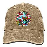 Vintage Jeans Baseball Cap Trucker Hat For Men And Women