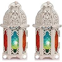 Nuptio Linterna De Vela Estilo Marroquí De 2