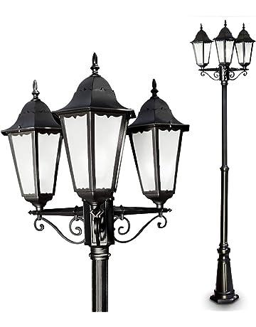 Réverbères - Luminaires extérieur : Luminaires & Eclairage : Amazon.fr