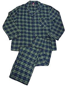 Hanes - Mens Long Sleeve Flannel Pajamas