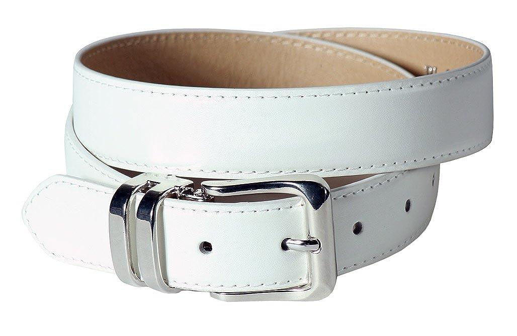 Boys White Dress Belt Tuxgear