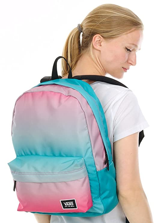 7dec127844b0 Vans Realm Classic Backpack - Geranium Pink Gradient  Amazon.co.uk  Sports    Outdoors