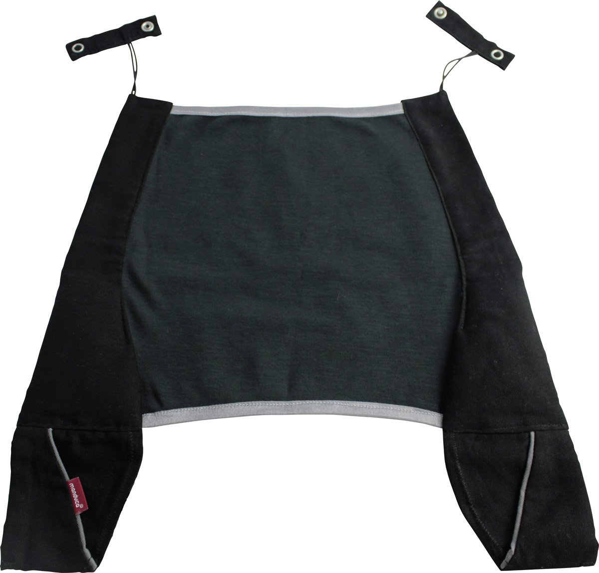 Manduca Mochila portabebé, color negro 222-44-15-001