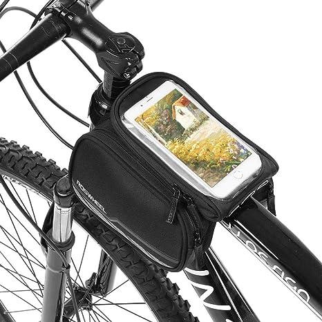 Tbest Bolsa de Bicicleta Impermeable Soporte Bolsa Movil Bicicleta ...
