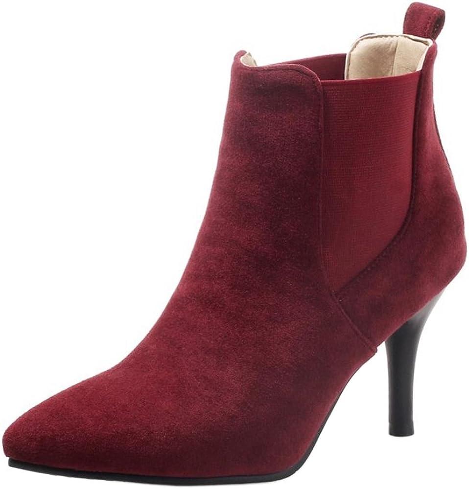 AicciAizzi Women Fashion High Heel Chelsea Boots