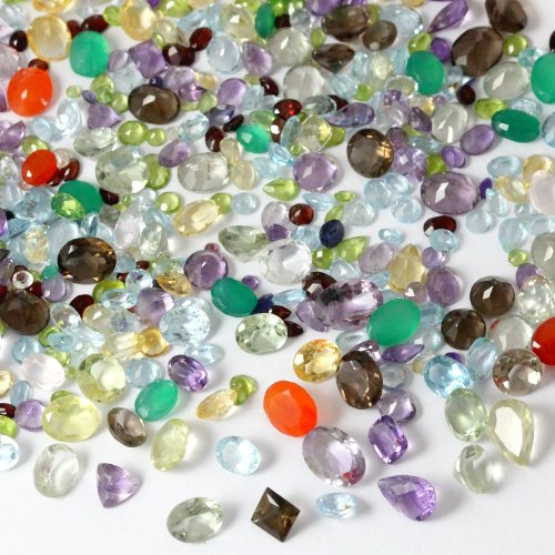 100+ Carats Mixed Gem Natural Loose Gemstone Lot - Precious Stones