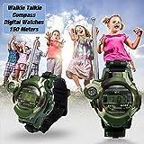 FidgetFidget Kids Walkie Talkie Wrist Watches Interphone Clock GPS Outdoor Army Game Toy
