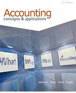 Amazon intermediate accounting 9781133957911 earl k stice accounting concepts and applications fandeluxe Gallery