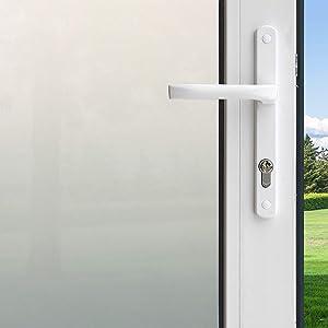 """Gila PFW486 Privacy Frosted Film-48 x6.5' Window Film, 48"""" x 6.5', White"""
