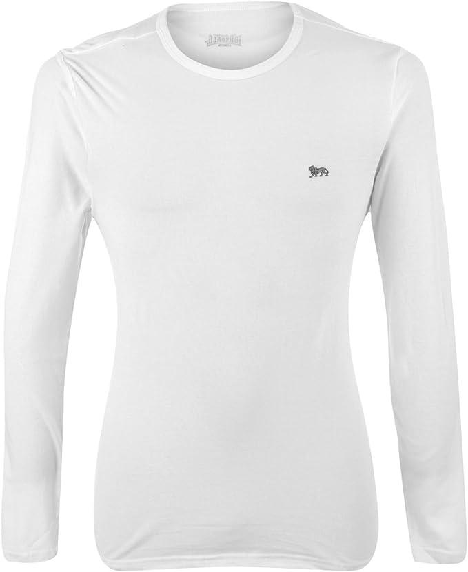 Lonsdale Camiseta Deportiva de Manga Larga para Hombre