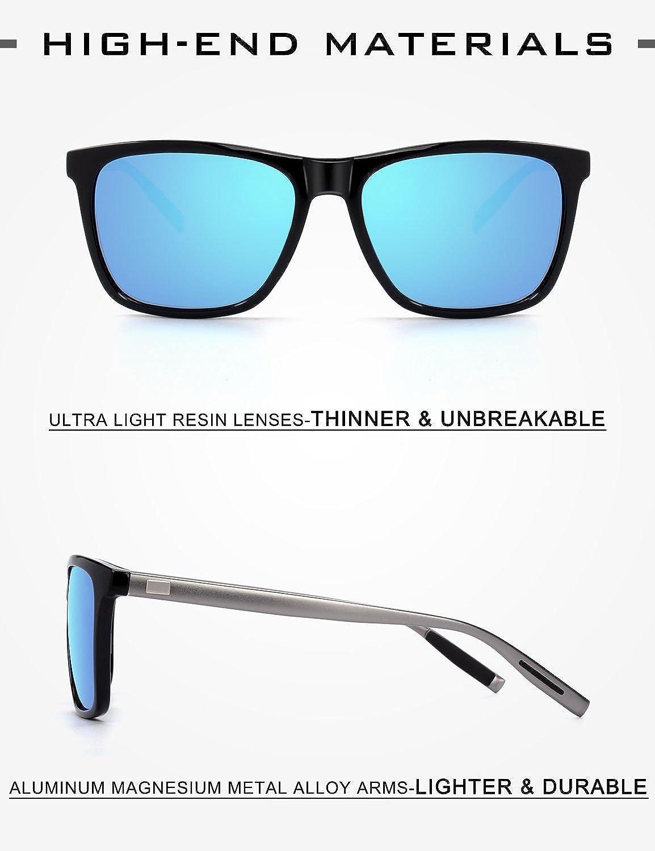 ZENOTTIC 2 en 1 Clip magnético en gafas de sol para gafas graduadas ... 6f410a1355