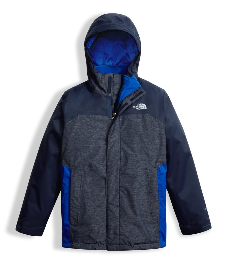The North Face Boy's Vortex Triclimate Jacket - Cosmic Blue - XS (Past Season) by The North Face