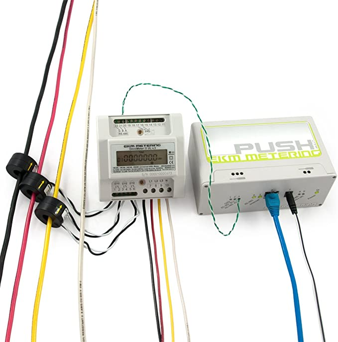Universal Smart Electric Meter Title 24 Relay Controlling EKM Omnimeter Pulse UL v.4 Pulse Counting