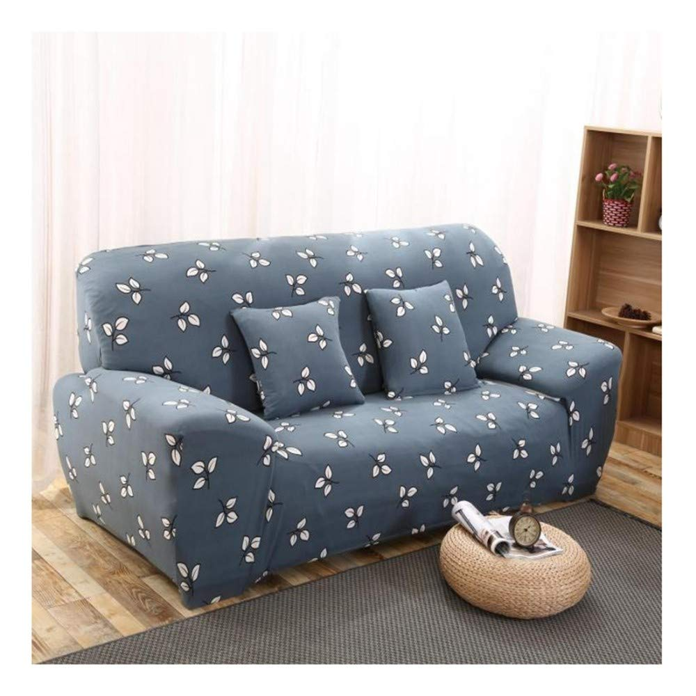 3seat VGUYFUYH Leaf Pattern Four Seasons Universal NonSlip Sofa Cover Polyester AllInclusive Elastic Home Universal Sofa Cover Simple Fashion One Set Durable Dust Pet Dog Predective Cover,3Seat