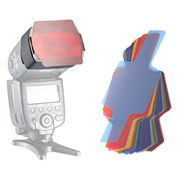 Neewer® Universal 20 Stück Farbfolien Blitz: Amazon.de: Kamera