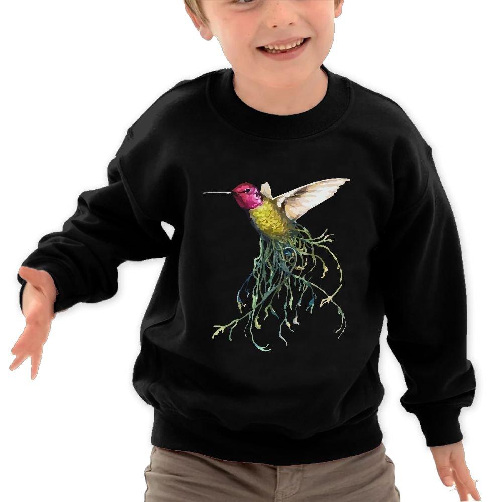 A Hummingbird children Cotton Pullover Cool Long Clothes