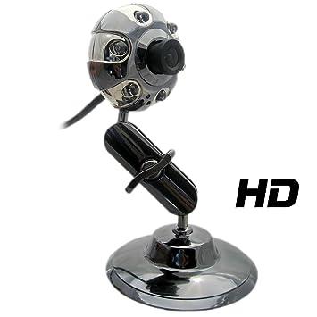 Kinobo - USB 2.0 HD Webcam - B3 HD Metal Stand 1080dp Webcam for Xp/