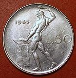 Extra Fine 1962 Italian 50 Lire